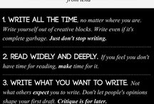 things about writing