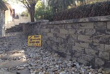 Hanover Block Retaining Wall Hardscape  Contractors Ryan's Landscaping / Ryan's Landscaping has the knowledge and equipment to tackle your retaining wall or paver project. When you are serious about starting your next  project. Contact us @ 717-632-4074 or www.ryanslandscaping.com. We are the Hanover Area premiere retaining wall and paver contractor.    / by RYAN'S LANDSCAPING