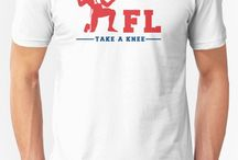 Take a knee - NFL against Trump protest