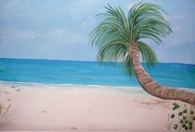 Beach Murals / Beach scenes and close- up detail photos for both indoors and outdoors