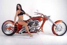 Motorcycle girls / womens_fashion