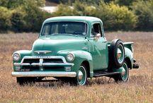 vintage vehicles / by Debbie Cruz