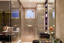Banheiro aberto para o quarto