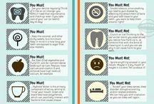 Dental Care info graphics
