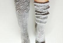 socks and high knees