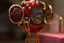 Faberge - eggs and other items