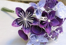 Papier Blumen
