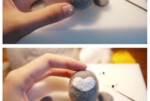 Crafts | Felting / Felt Projects + Needle Felting Crafts & Techniques / by tla17