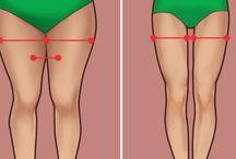 cvičení nohy a zadek