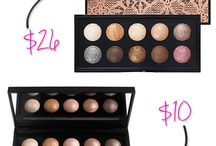 makeup dupes! / Save some coin & look good while doing it!