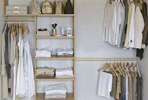 Opbevaring garderobe