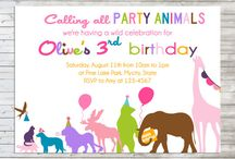 Animal/jungle theme party