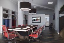 Projekt OFFICE Lemberg / Interieur-Gestaltung: Idee, Konzept, Planung, 3D-Gestaltung und Rendering, Innenausbau, Einrichtung
