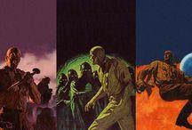 James Bama / The Bantam Doc Savage Covers of James Bama. / by Jim Yates