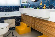 Banheiro infantil / Confira referências e dicas para se inspirar e criar um lindo banheiro infantil para seus filhos!