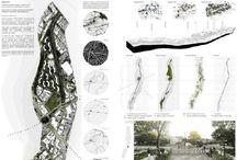 Architecture competition graphic design