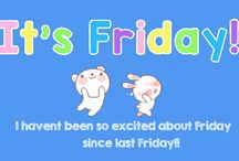 Friday Feeling - Ecards / It's #FinallyFriday! Share your friday-licious feelings with your loved ones, family, friends, coworkers with our amazing, trendy, easy to send #ecards.   / by 123Greetings Ecards