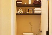 new bathroom ideas / by lori galloway