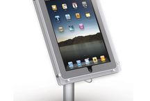 iPad Kiosks / Large selection of iPad Kiosk; from tabletop versions to floor-standing and with full color graphics. We have them all! Lots of options and full range of pricing. Lifetime warranty, Made in USA