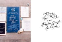 Calligraphy we love! / Hand written calligraphy that hi note clients love!