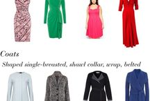 How to dress / Tips for wide shoulders, tall and skinny figure, body shape X (hourglass) and other useful fashion tips