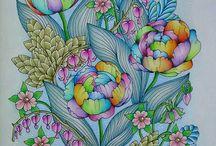 Blomster Mandala inspiration
