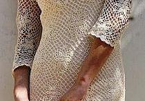 rochie macramè