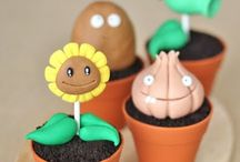 Plants cake