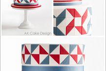 patchwork cake