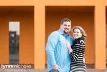 bright and colorful engagement