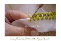 Rifinire tessuto con uncinetto