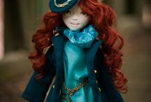 Avrile / Handmade Ooak Doll by Romantic Wonders