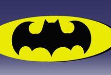 Superheroes Logo's / Superhero logo - created using  3D modelling software