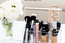 Makeup collection.