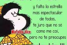 Bella frase de Mafalda