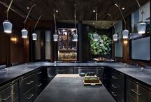 Atera (Manhattan) / Designed by Parts and Labor with concrete countertops by Oso Industries. 77 Worth St. NY, NY 10013 USA Executive Chef Matthew Lightner is a recipient of two Michelin stars.