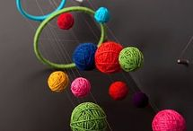Yarn Crafts / Check out these non-traditional ways to make crafts with yarn! Don't worry, there's no knitting or crocheting involved in these yarn craft ideas! / by ConsumerCrafts.com