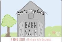 Host Your Own Barn Sale / How to host a barn sale. Prep, tips, tricks & inside secrets to have a successful barn sale of your home.  www.thebarnsalebusiness.com/tag/how-to-prep-for-a-barn-sale