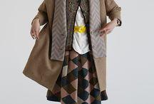 コート+ジャケット+べスト+羽織