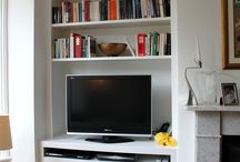 Alcoves front room