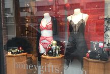 Honey Gifts Weekly Windows / What's New. Hot. Daring. Fashion Inspo.