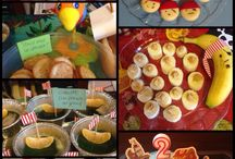 The Crafter Gnome's Kitchen / Party food and yummie things for Gnomes