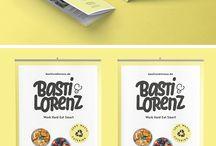 Basti & Lorenz / Basti & Lorenz / Brand Design / #branddesign #design #logo / by Zeichen & Wunder, München
