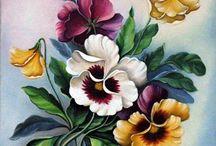 цветы рисовать