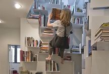 Where to Put the Books / Do you have a lot of books? From display, to storage to home libraries, these are great ideas for book lovers.