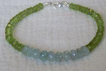Semiprecious bracelets