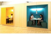 Offices and work spaces / From small offices to work spaces, personal interiors to big corporations.