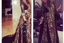 Moroccan dresses©® / Some beautiful dresses from Morocco❤️