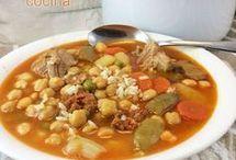 Cocido  con  verduras y arroz