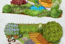 Firma / Gartenanlage Planung